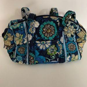 Very Good UC Vera Bradley Mod Floral Blue Purse